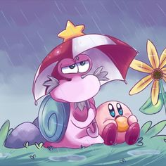 ⭐Escargoon and Kirby from Kirby Right Back At Ya!