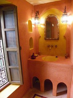 I Love The Moroccan Feel Of This Bathroom My Interpretaion Would Be A Little More