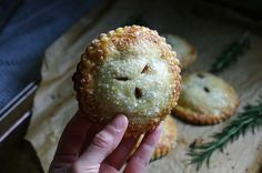 fig, balsamic, and rosemary hand pies
