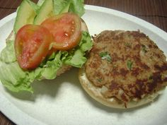 Mexican Tuna Burgers - I made them without the lim juice or onion and I added chives. Delicious!!