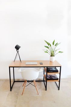 Most Popular Study Table Designs And Children's Chairs images ideas from Home Table Ideas Study Table Designs, Office Table Design, Home Office Table, Home Office Design, Home Office Furniture, Home Office Decor, Cheap Furniture, Furniture Design, Inexpensive Furniture