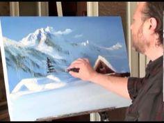 "LIBERO! Full video ""Paesaggio invernale"" dal artista Igor Sakharov - YouTube"