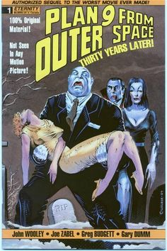 Plan 9 from Outer Space comic - read about comic adaptations of horror movies here: http://horrorpedia.com/2014/09/14/horror-filmcomic-crossovers-article/