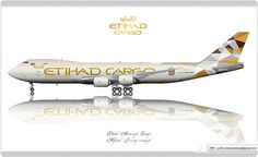 Etihad Airways Cargo Livery concept | Flickr - Photo Sharing!