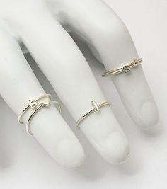 catbird :: JEWELRY :: Alphabet Rings  can I get a KFP!