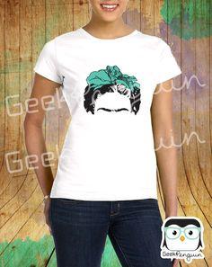 Frida Kahlo es Arte, Frida Kahlo Shirts Design Art