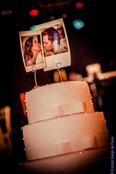 topo de bolo com fotos