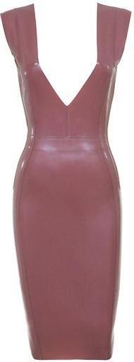 House of CB Riviera Latex Dress as seen on Khloe Kardashian