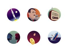 Decades Badges by Matúš Peciar