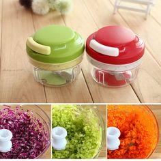 New Arrvial!! Kitchen Spiral Slicer Food Chopper Dicer Meat Fruit Cutter Mixer Salad Crusher Excellent Quality