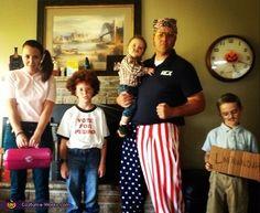 Bla ha ha ha ha!!!!! Dynamite Family costume