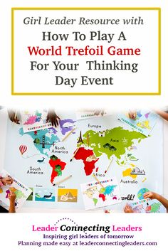 World Thinking Day is February 22nd every year! One thing that is great to teach your girls is the meaning of the World Trefoil Pin. Use the following game to teach your girls the meaning of the Pin many of them are either already wearing or will be wearing after your event. I found this …