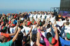 """#JMJRio2013: """"Ide e fazei discípulos entre todas as nações"""" (Mt 28,19). #JMJ #Rio2013"""