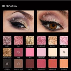 Ucanbe Brand Pro High Quality 12 Colors Baked Metallic Eye Shadow Makeup Palette Glitter Smoky Nude Eyeshadow Powder Cosmetics Regular Tea Drinking Improves Your Health Beauty & Health Beauty Essentials