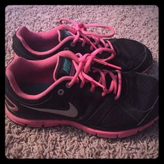 Nike Shoes A lot of use put in from the Police Academy, and several gym sessions.  Definitely broke in! But I have so many and don't ever wear them anymore! P.S. I will wash before sending! So if anyone's needing play shoes, here you go  Nike Shoes Athletic Shoes
