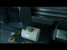 The digital UV flatbed printer is the latest UV machine of Microtec company . This model is designed for industrial bulk production with high printing speed,. Miraculous Ladybug Funny, Mug Printing, Print Logo, Printed Shirts, Printer, Ceramics, Mugs, Digital, Ceramica
