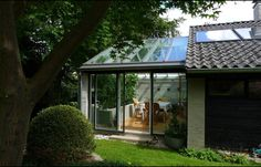 Orangeriet set fra haven Gazebo, Pergola, Outdoor Structures, Architecture, Garden, Outdoor Decor, Plants, Inspiration, Home Decor