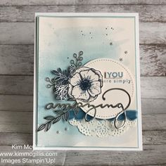 """Kim McGillis Papercrafting (@kim_mcgillis) on Instagram: """"Did you check out the Sale-a-bration brochure? So many possibilities with the Amazing You Stamp Set…"""""""