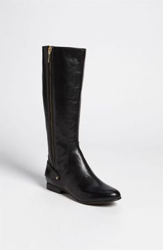 Dear  College Lifestyles- I love everything about these zip boots! These will most likely be my go-to boot this school year. Black leather goes with pretty much everything in my wardrobe! #CLb2s