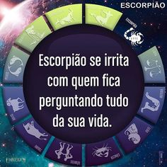 #escorpiao #escorpião #signos #mauhumor #signo Libra, Self Awareness, Piece Of Me, Zodiac Signs, Reflection, Humor, Internet, Instagram, Words