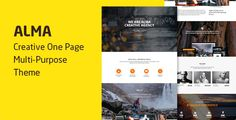 Alma - Parallax One Page Multi-Purpose Theme by pixelthrone  What Our Customers are Saying  v1.1.24 - 12/09/2016 - Update  Pixelthrone Plugin 1.1.20 - Added  Multi Page Navigationv1.1.2