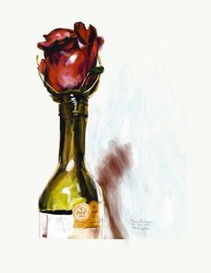 Title: A not given rose to Helena.  Άδοτον ρόδον. Ungiven rose. Rosa non data.