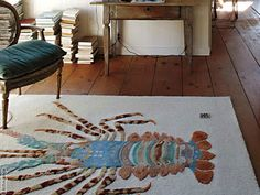 Invite a spiny lobster at home.