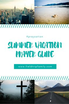 Summer vacation pray