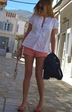 Hydra Shopping- My Pre- Summer Greek Island Look