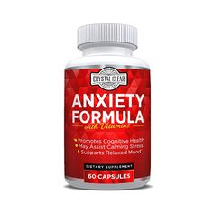 """STRESS RELIEF & POSITIVE VIBES – Get rid of social anxiety and mood swings. Our anti anxiety supplement will help keep away negative feelings, while keeping you on top of your game. A clear calm mind is a healthy mind and a healthy mind is a happy mind."""