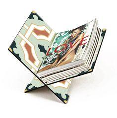 Revisteiro Jornal Verde - StickDecor   Decoração Criativa