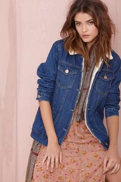 The only thing better than vintage denim is new denim that looks vintage.