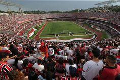 Morumbi Lotado | São Paulo FC (@SaoPauloFC) Time Sao Paulo, Brazil Football Team, Soccer Stadium, Bff Goals, Baseball Field, Aries, Grande, Wallpapers, Architecture