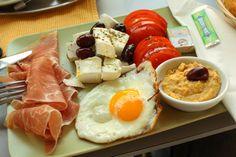 Deli breakfast in Austria