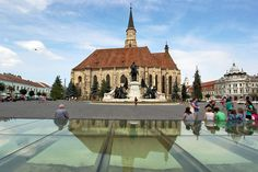 PHOTO: Saint Michael's Cathedral in Cluj-Napoca