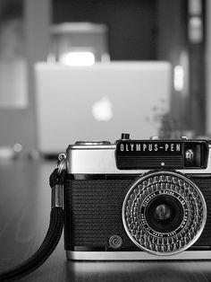 Olympus-pen #camera #olympus