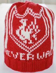 Relatert bilde Liverpool, Knitted Hats, Knitting Patterns, Knit Crochet, Diy And Crafts, Beanie, Fun, Zelda, Pictures