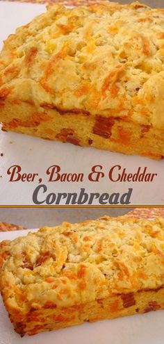 Beer, Bacon And Cheddar Cornbread