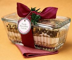 Chocolate, Raisin, and Oatmeal Cookie Mix - Recipe and Gifting Idea.