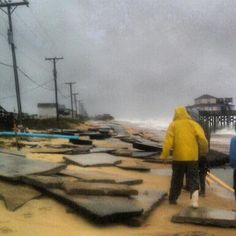 KDH and Kitty Hawk flooding | OBX Connection Message Board/Milepost 4.5 in Kitty Hawk 10/29/12