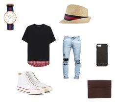 """bruno"" by tomasi-nasau on Polyvore featuring Neil Barrett, Converse, Prada, Gucci, Jack Spade, Nixon, men's fashion and menswear"