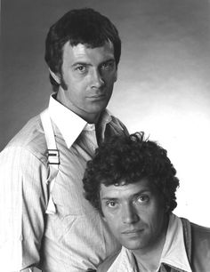 Bodie (Lewis Collins) and Doyle (Martin Shaw) in The Professionals