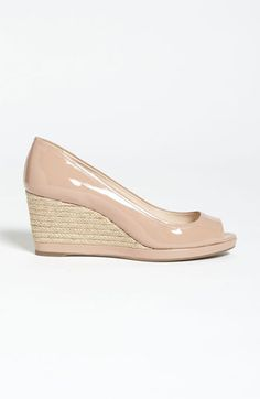 Nude Wedges | Like These Gorgeous Prada Wedge. Cute, classy, casual to go with any outfit.