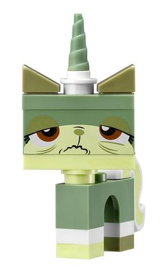 LEGO Movie Seasick Uni-Kitty from the Metalbeard's Seacow set | Flickr - Photo Sharing!