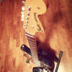 My fender Jaguar... #fender the king of the brand in the guitar world! #guitar #music #nirvana #jaguar #sound #musician