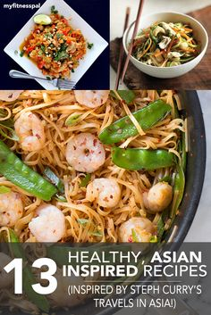 13 Healthy, Asian-Inspired Recipes (Inspired by Stephen Curry's Travels in Asia) ‹ Hello Healthy