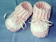 Granny's Love Baby Booties: http://kpup.tripod.com/html/baby_booties.html