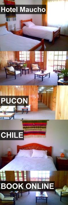Hotel Maucho in Pucon, Chile. For more information, photos, reviews and best prices please follow the link. #Chile #Pucon #travel #vacation #hotel