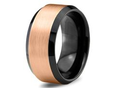 Hey, I found this really awesome Etsy listing at https://www.etsy.com/listing/188465296/rose-gold-wedding-band-ring-tungsten