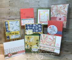 The Daisy Delight bundle is the must have bundle in the new annual catalog! See my Delightful Daisy class to go here! Enjoy the blog hop with Stampin' Up!